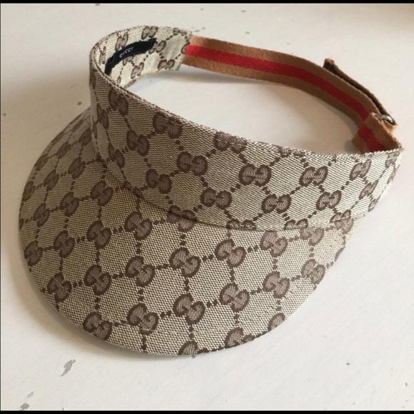 Authentic Gucci Visor 18c5e89acac